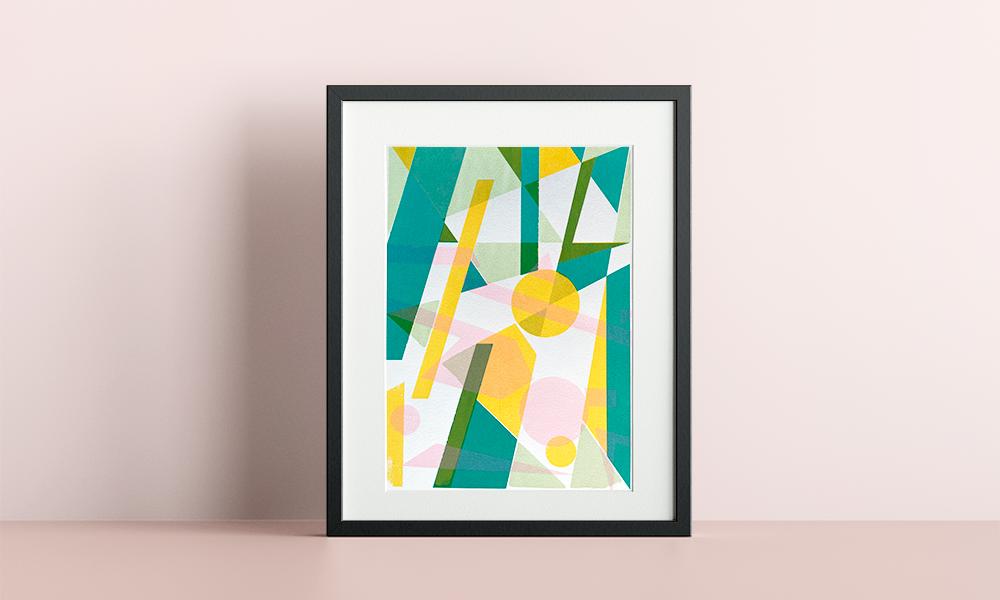 Movement #1 Original print